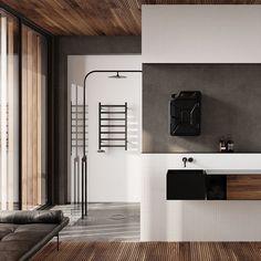 top3 by design - One Copenhagen - danish fuel bathroom cabinet black