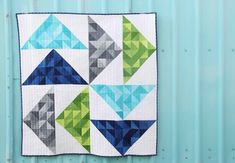V and Co.: V and Co: first quilt over at Gen X