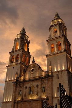 Cathedral, San Francisco de Campeche, Mexico