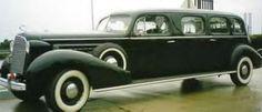 1936 Cadillac Stretch Limo. www.midnightrunlimo.com #personalchauffeur #privatedriver #orangecountylimo