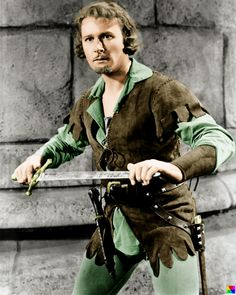 Errol Flynn in The Adventures of Robin Hood (1938)