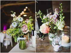 Zoe and Stephen's Rustic Chic Barn Wedding. By Lola Rose Photography