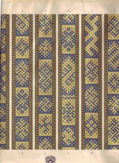 Орнаменты(вышивка)