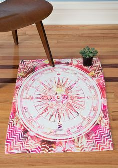 Bianca green s follow your own path pink deny rug is now available at