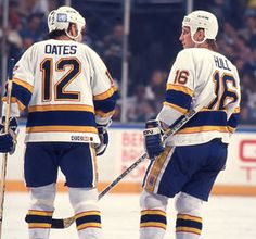 Brett Hull Adam Oates St. Louis Blues Hockey