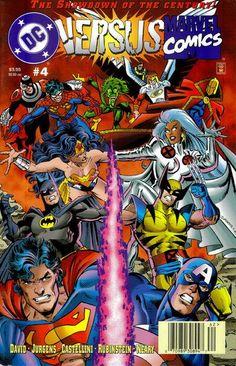 DC Versus Marvel/Marvel Versus DC #4 - Comic Book Cover