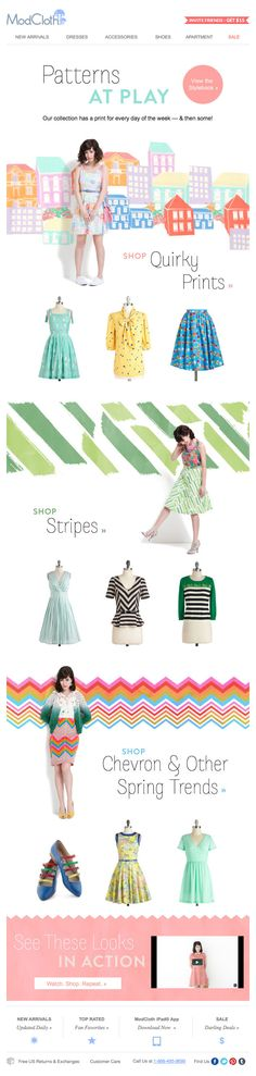 ModCloth : Color + Pattern
