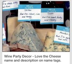 Cheese labels!