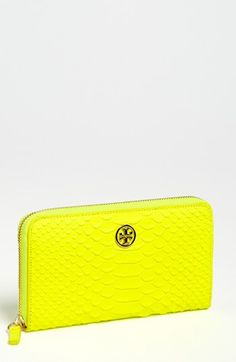 Tory Burch 'Snake' Continental Wallet available at #Nordstrom