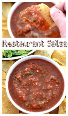 This Restaurant salsa recipe is by far the best one out there- it tastes just like it's straight from the kitchen of a Mexican Restaurant.