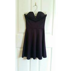 Charlotte Russe Purple Strapless Sweetheart Dress