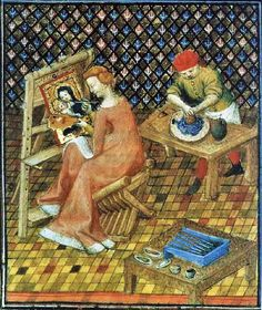 It's About Time: Women Artists from the 1300s-1400s - Illuminated Manuscripts