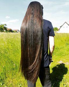 Long Silky Hair, Long Brown Hair, Thick Hair, Straight Hair, Red Hair Woman, Pretty Hair Color, Really Long Hair, Bright Hair Colors, Beautiful Long Hair