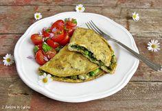Omelette con verdure e Parmigiano Reggiano per il #foodrevolutinday di Jamie Oliver 4
