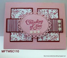 I'd rather be crafting: Challenge cards for My Favorite Things Wednesday Stamp Club