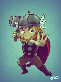 Thor Mini Superheroes