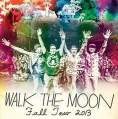 Walk The Moon just announced their Fall Tour 2013! Not one to miss #indie #rock I wanna live in the US omfg