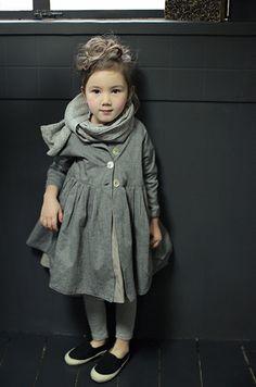 www.sweven.co.kr re-vintage girls fashion 14SS Helen long jacket 100% cotton
