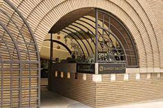 VC Morris Gift Shop, San Francisco, CA - Xanadu Gallery Frank Lloyd Wright building. C. 1948