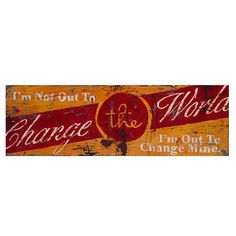 Change The Word Giclee by Rodney White - Ballard Designs