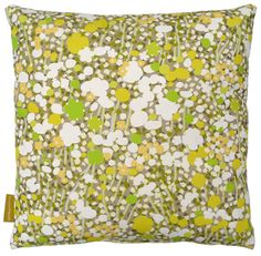 Meadow Cushion.  available at www.heals.co.uk #lifeinstyle #greenwithenvy