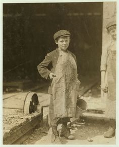 1913 Frank, Shucks 4 Pots a Day by Lewis Hine