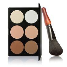 Marca 6 Cores Profissional Cosméticos Contour Palette Face Powder Makeup Cabaça…