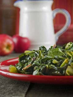 Slow Cooked Vegan Collard Greens