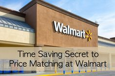Using Walmart's price matching process is a great way to save even more on your groceries. No need to spend time shopping at multiple stores when Walmart will price match.