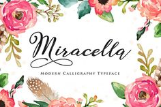 Miracella Script (Intro 30% off) - Free Font of The Week from FontBundles.net