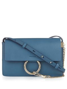 Chloé Faye small leather cross-body bag