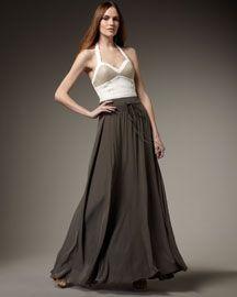 Leifsdottir ~ Spring 2012 Trend ~ Long Flowy Skirts