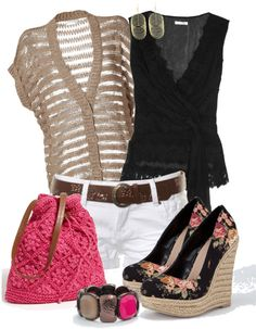 """""""Darian"""" by jeanean-brown on Polyvore. Cute summer outfit.  #summer"""