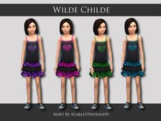 scarletphoenix91's Wilde Childe Collection
