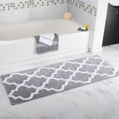 You'll love the Long Trellis Bath Rug at Wayfair - Great Deals on all Bed & Bath products with Free Shipping on most stuff, even the big stuff.
