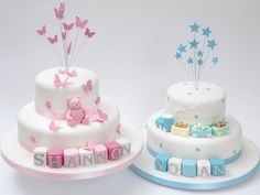 Is your twins' birthday about to come and you want to do something special for them? Don't think so much because we are here to solve your problems. We make the most innovative custom #cakes for every occasion.