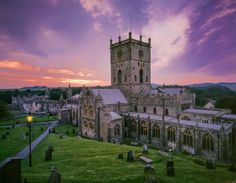 On location: St David's Cathedral in Pembrokeshire where Richard II was filmed for the new BBC television production of the first tetralogy, The Hollow Crown.