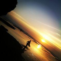 Salah satu keindahan Pemandangan di Pulai Bali