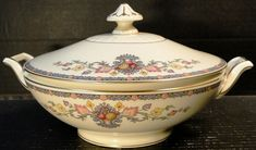 Community China King Cedric Casserole Covered Vegetable Bowl Lid EXCELLENT #CommunityChina
