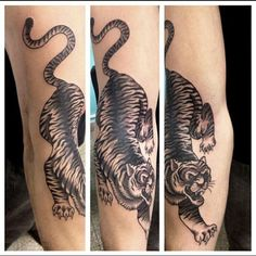 Crawling Tiger Tattoo by Juan Manuel Piranha Sancho