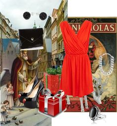 """""""St. Nicholas Day"""" by mari335 ❤ liked on Polyvore"""