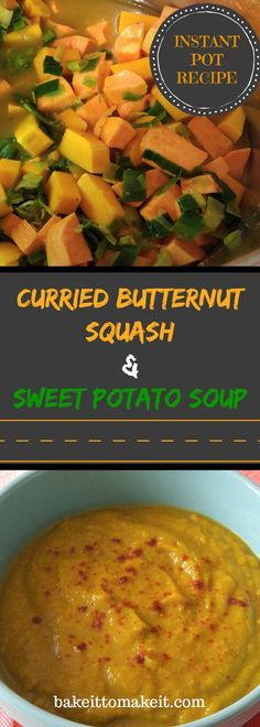 A creamy and smooth blended soup consisting of butternut squash, sweet potatoes and leeks. The soup comes together with a delicious curry and coconut flavours. Made in the Instant pot or on the stove, definitely will leave you satisfied.