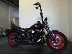 2009 Harley-Davidson Softail Crossbones FLSTSB