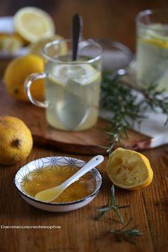 Dans la cuisine de Sophie: Infusion citron, miel & romarin
