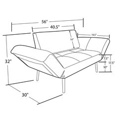 belvedere futon style sofa bed hand made in yorkshire and delivered