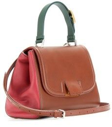 Fendi - SILVANA LEATHER TOTE - mytheresa.com GmbH