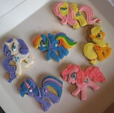 My Little Pony Cookies By DailyCookie on CakeCentral.com