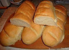 Bułka paryska (francuz). - przepis ze Smaker.pl Bread, Food, Recipes, Eten, Bakeries, Meals, Breads, Diet
