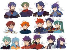 mimiblorgh:  fire emblem lords studies so i can remember how to draw them or something (?)