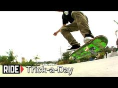 Learn a new trick each and every day from top pros. You'll get step-by-step instructions on how to master every trick in skateboarding! Tune in seven days a week to learn something new.    Today Jimmy Cao shows you how to Nollie Kick Flip